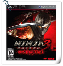 PS3 NINJA GAIDEN 3 RAZOR'S EDGE PLAYSTATION Action Games Koei Tecmo