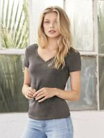 Bella + Canvas - Women's Deep V-Neck Jersey Tee - 6035