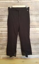 Roffe Vintage Womens Ski Pants Black Stirrups Made USA Approximately Size 10/12
