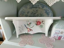 WOODEN WALL STORAGE SHELF MADE WITH CATH KIDSTON DESIGN KITCHEN BEDROOM BATHROOM