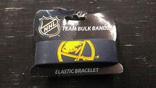 Buffalo Sabres Bulk Bandz Elastic Wrist Band Bracelet