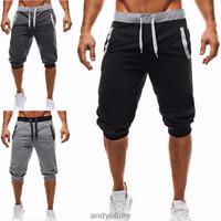Men Sports Casual Gym Shorts Summer Pocket Short Trousers Pants Jogging Fashion