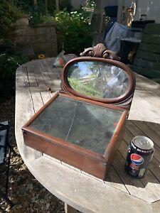Antique Rare Shop Display Cabinet Collectors Cabinet. Perhaps Fry's Or Cadbury ?