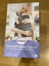 boppy ComfyFit Baby Carrier - Heather Grey New In Opened Box