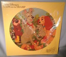 LP SOUNDTRACK WALT DISNEY Lady and the Tramp PICTURE DISC 3103 NEAR MINT