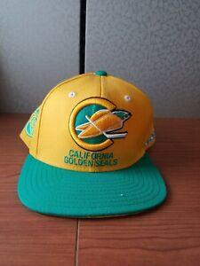 CCM Reebok California Golden Seals NHL Hockey Embroidered Cap Hat Snap back