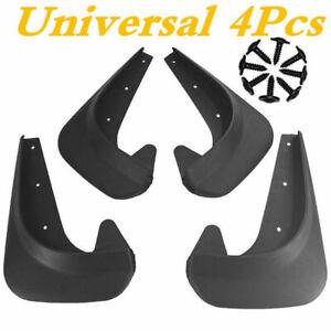 EVA Plastic Wearing Mud Flaps Splash Guards Fit For Car Front Rear Fender 4PCS