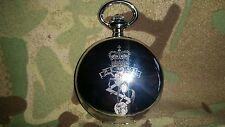 REME Pocket watch, Personalised Number Rank Name, Electrical Mechanical