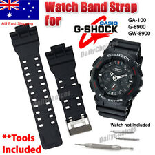 16mm WATCH BAND STRAP FITS CASIO G SHOCK GA-100 G-8900 GW-8900 PINS TOOL G-SHOCK