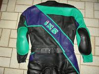 IXS Kombi Motorradkombi vintage Lederkombi 90s racing Motorrad 90er biker 50 M