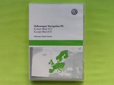 SD CARD NAVIGATION FX OST EUROPA 2016 V8 VW RNS 310 PASSAT GOLF CADDY SKODA SEAT