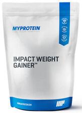MyProtein Impact weight gainer sabor neutral unflavoured 2,5kg bolsa 2500g