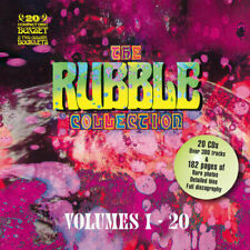 The Rubble Collection 20 CD Set 60s POPSIKE Nuggets FREAKBEAT
