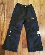 NEW Girl's ZEROXPOSUR Black Snow Pants Size 5/6