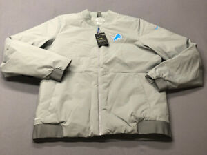 Nike NFL On Field Apparel Detroit Lions Winter Jacket (L, Gray)(NWT) MSRP $200