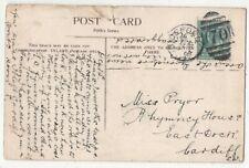 Bideford 8 Jul 1904 Duplex Postmark Devon 197c