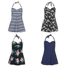 Ladies Women Full Circle Swim Swimming Dress Costume Swimsuit Swimmers~Size 8-22
