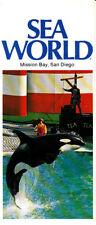 Sea World Mission Bay California CA Vintage Brochure