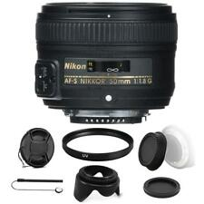 Nikon AF-S NIKKOR 50mm f/1.8G Lens with Accessories For Nikon D5500 , D5600