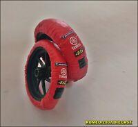 1:12 Tire Warmer Termocoperte Yamaha Valentino Rossi Valencia 2005 to minichamps