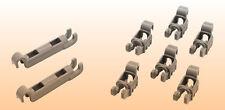 ORIGINAL Lager Klappstachelreihe Unterkorb Spülmaschine Bosch Neff 00611472 #21