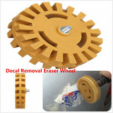 Car Decal Removal Eraser Wheel