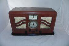 Havana AM/FM Stereo Wood Radio Cassette Tape Player Spirit Of St Louis - Tested