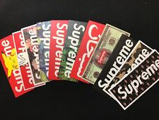 100 Supreme Skateboard Longboard Vintage Vinyl Sticker Laptop Luggage Car Decals
