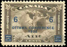 1932 Canada Mint H F-VF Scott #C4 (C2 Surcharged) Air Mail Issue Stamp