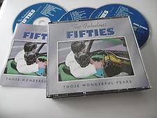 TIME LIFE MUSIC THE FABULOUS FIFTIES THOSE WONDERFUL YEARS 3 CD BOX 50 TRACKS