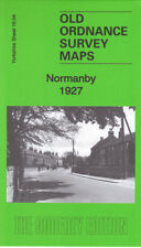 OLD ORDNANCE SURVEY MAP NORMANBY 1927