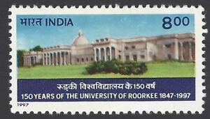 INDIA 1997 150th Anniversary Roorkee University Buidling Architecture Education