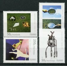 Iceland 2018 MNH Icelandic Art IX SUM 4v Set Art Paintings Stamps