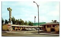 1970s Cactus Motel, Route 66, Barstow, CA Postcard