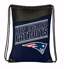 New England Patriots Bag NFL Football Backpack Drawstring Bookbag New W/ Tags