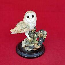 More details for country artist barn owl with horse brasses - 5615 oa