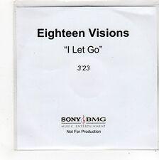 (FO517) Eighteen Visions, I Let Go - DJ CD