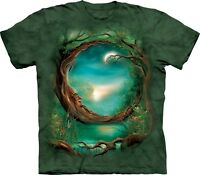 Moon Tree Fantasy T Shirt Adult Unisex The Mountain