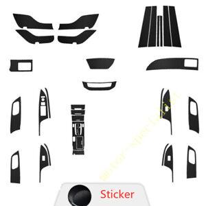 Console Gear Shift Door Anti Kick Pad Window Sticker For Honda Accord 2013-2017