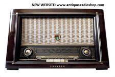 PHILIPS TUBERADIO (röhrenradio). JUPITER 553-3D. Restored. SEE VIDEO. TOP