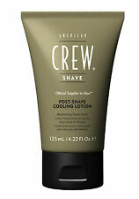 AMERICAN CREW POST SHAVE COOLING LOTION 125ml  New & Genuine