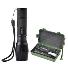 Smiling Shark Tactical 1000 Lumens Adjustable Focus Zoomable Flashlight