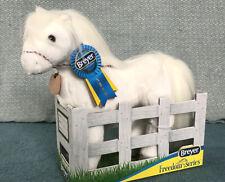 NEW Breyer Aurora Plush white Arabian horse toy plushie
