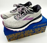 BROOKS ADRENALINE GTS 20 WOMEN'S ATHLETIC RUNNING FOOTWEAR  GREY/WHITE/VALERIAN
