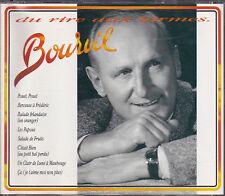 COFFRET 2 CD 40T BOURVIL DU RIRE AUX LARMES BEST OF 1990 TBE