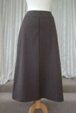 Marks and Spencer M&S Winter Skirt Size UK 16 Brown