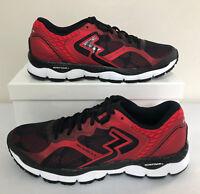361 Degrees Men's Shield 2 Running Shoes Black/Risk Red -