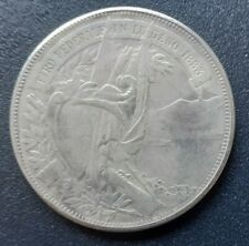 More details for 1883 switzerland lugano shooting festival 5 francs coin
