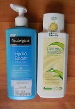 2x Bodylotion Neutrogena Hydro Boost Body Gel Cream und Aloe Vera Lotion NEU
