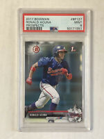 RONALD ACUNA JR 2017 Bowman Prospects 1ST BOWMAN RC! PSA MINT 9! #BP127! BRAVES!